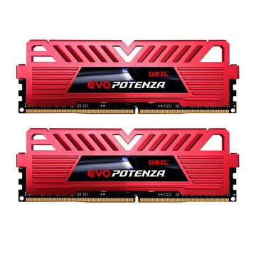 Geil Evo Potenza DDR4 3200MHz CL16 Dual Channel Desktop RAM - 16GB