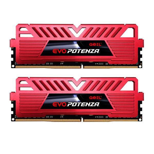 Geil Evo Potenza DDR4 3200MHz CL16 Dual Channel Desktop RAM - 16GB