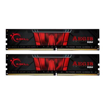 تصویر رم دسکتاپ جی اسکیل DDR4 دو کاناله 3000 مگاهرتز CL16 مدل Aegis ظرفیت 16 گیگابایت