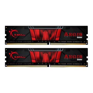 رم دسکتاپ جی اسکیل DDR4 دو کاناله 3200 مگاهرتز CL16 مدل Aegis ظرفیت 32 گیگابایت