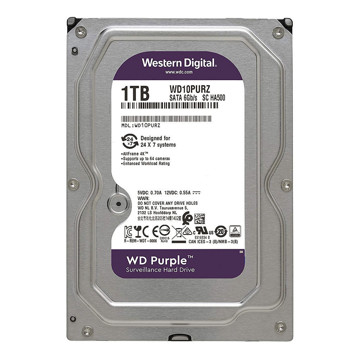 Western Digital Purple WD10PURZ  1TB Internal Hard Disk-front