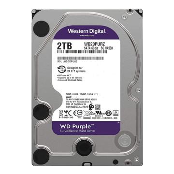 Western Digital Purple Surveillance WD20PURZ Internal Hard Disk 2TB-FRONT