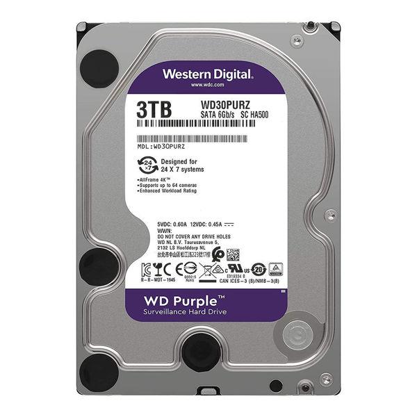 Western Digital Purple WD30PURZ Internal Hard Disk 3TB-FRONT