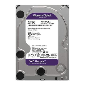 Western Digital Purple WD40PURZ Internal Hard Disk 4TB-FRONT