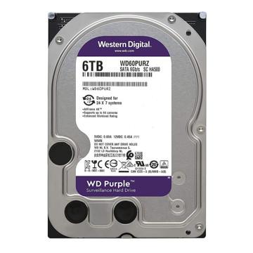 Western Digital Purple WD60PURZ Internal Hard Disk 6TB-FRONT