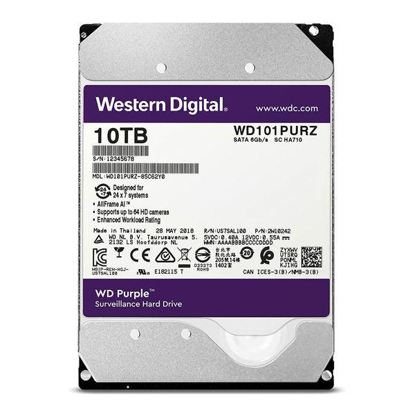 Western Digital Purple WD101PURZ Internal Hard Disk 10TB-FRONT