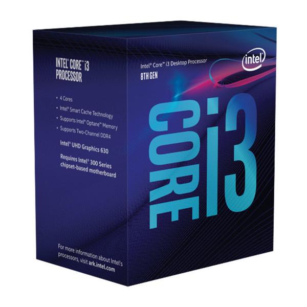 Intel Coffee Lake Core i3-8100 CPU-box