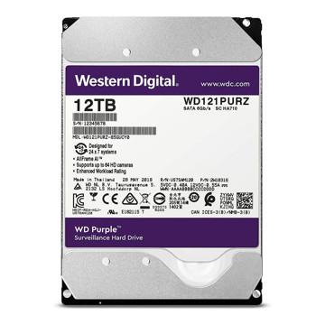 Western Digital Purple WD121PURZ Internal Hard Disk 12TB-FRONT