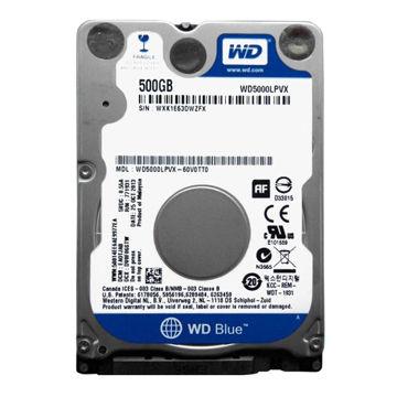 Western Digital Blue WD5000LPVX Internal Hard Drive 500GB-FRONT