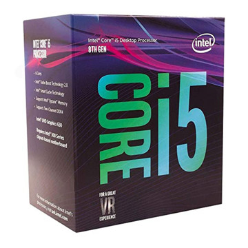 Intel Coffee Lake Core i5-8600K CPU-box