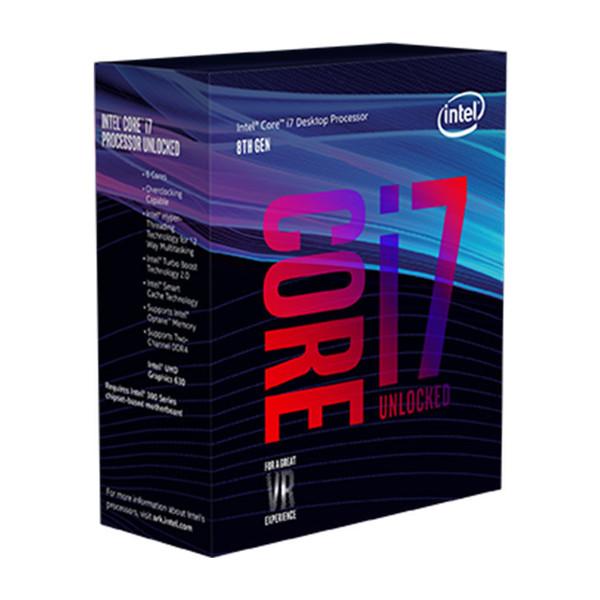 Intel Coffee Lake Core i7-8700K CPU-BOX