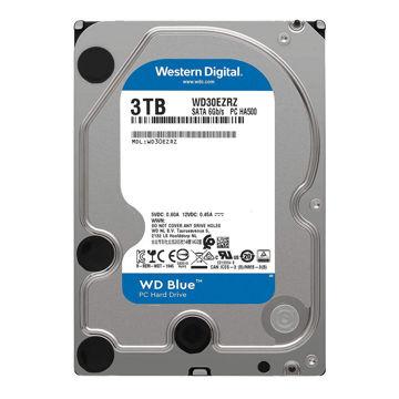 Western Digital Blue WD30EZRZ Internal Hard Drive 3TB-FRONT