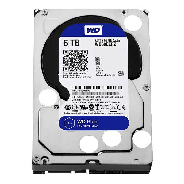 Western Digital Blue WD60EZRZ Internal Hard Drive 6TB-FRONT