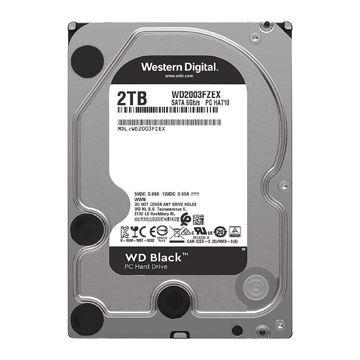 Western Digital Black WD2003FZEX Internal Hard Drive 2TB-FRONT
