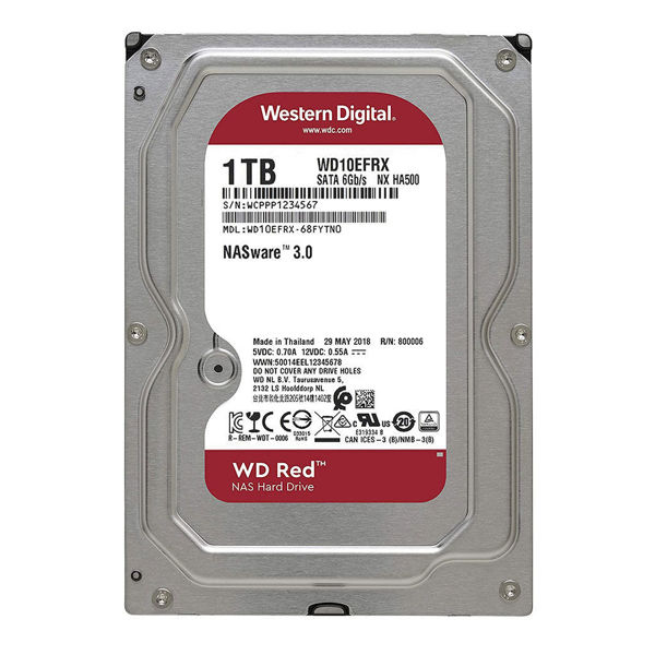 Western Digital Red WD10EFRX Internal Hard Drive 1TB-FRONT