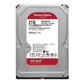 Western Digital Red WD20EFAX Internal Hard Drive 2TB-FRONT