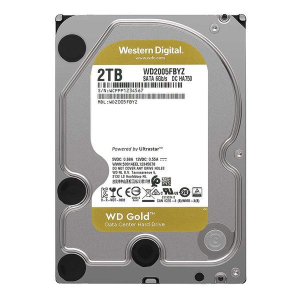 Western Digital Gold WD2005FBYZ Internal Hard Drive 2TB-FRONT