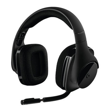 Logitech G533 Gaming Wireless Headphones-side