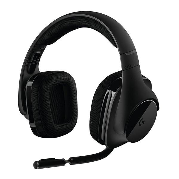 Logitech G533 Gaming Wireless Headphones-side