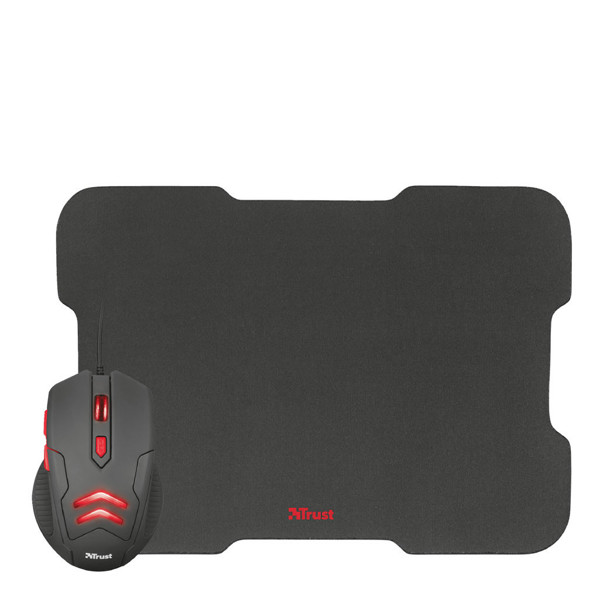 Trust ZIVA Gaming Mouse & Mouse Pad