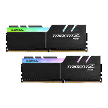 G.SKILL TRIDENT Z RGB DDR4 3200MHz CL14 Dual Channel Desktop RAM - 16GB
