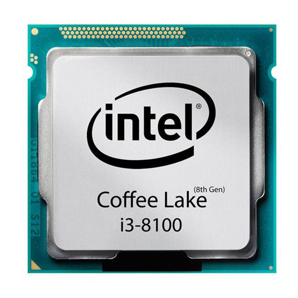 Intel Coffee Lake Core i3-8100 CPU