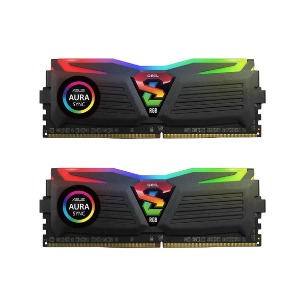 Geil Super Luce RGB DDR4 3200MHz CL18 Dual Channel Desktop RAM - 64GB