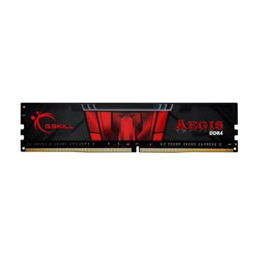 رم دسکتاپ جی اسکیل DDR4 تک کاناله 2400 مگاهرتز CL17 مدل Aegis ظرفیت 4 گیگابایت
