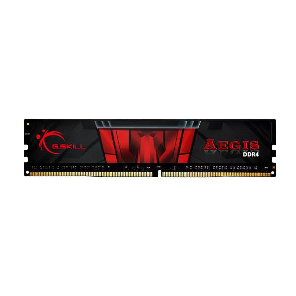 تصویر رم دسکتاپ جی اسکیل DDR4 تک کاناله 2400 مگاهرتز CL17 مدل Aegis ظرفیت 8 گیگابایت