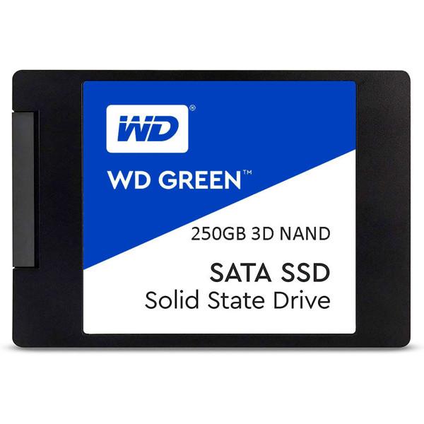 تصویر حافظه SSD اینترنال وسترن دیجیتال مدل Blue ظرفیت 250 گیگابایت
