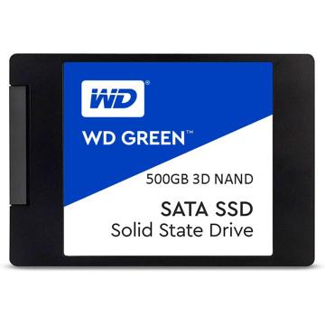 تصویر حافظه SSD اینترنال وسترن دیجیتال مدل Blue ظرفیت 500 گیگابایت