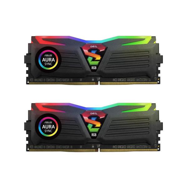 Geil Super Luce RGB DDR4 3200MHz CL16 Dual Channel Desktop RAM - 32GB