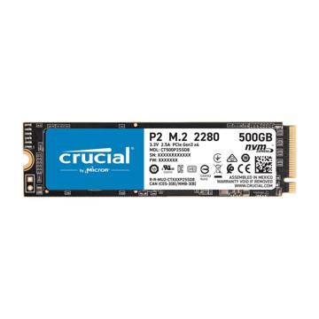 CRUCIAL P2 Internal SSD Drive 500GB
