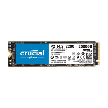CRUCIAL P2 Internal SSD Drive 2TB