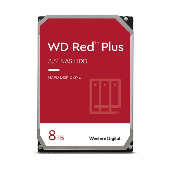 Western Digital Red PLUS NAS Internal Hard Drive 8TB