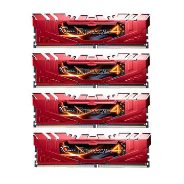 G.SKILL RIPJAWS 4 DDR4 2666MHz CL15 QUAD Channel Desktop RAM - 16GB