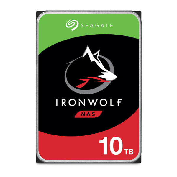 SEAGATE IRON WOLF ST10000VN0004 Internal Hard Drive 10TB