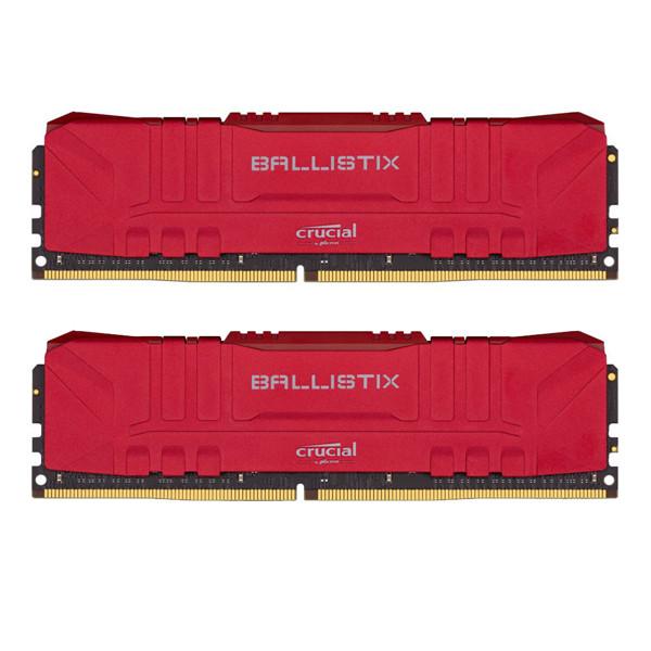 رم دسکتاپ کروشیال DDR4 دو کاناله 3200 مگاهرتز CL16 مدل BALLISTIX ظرفیت 32 گیگابایت