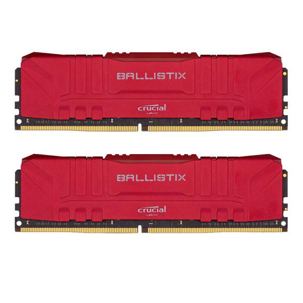 Crucial BALLISTIX DDR4 3200MHz CL16 Dual Channel Desktop RAM - 16GB