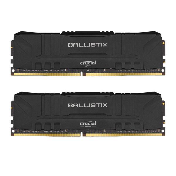 Crucial BALLISTIX DDR4 4000MHz CL16 Dual Channel Desktop RAM - 32GB