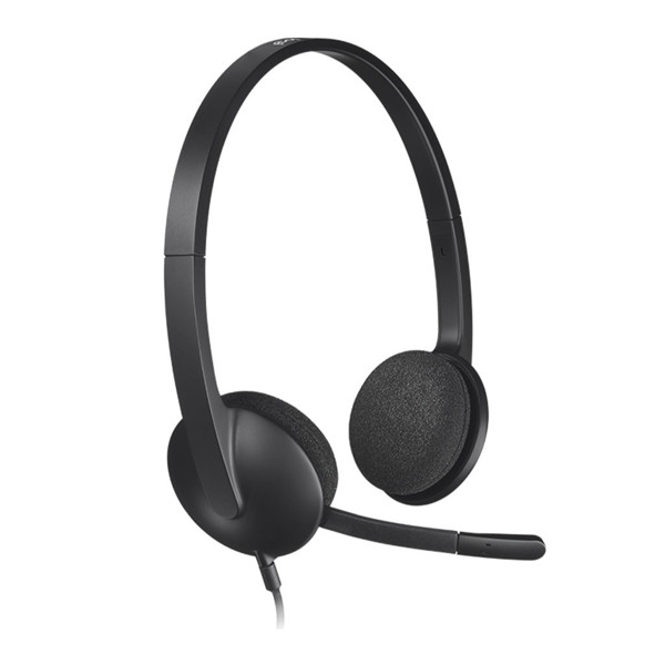 Logitech H340 Stereo USB Headset with Noise-Cancelling Mic