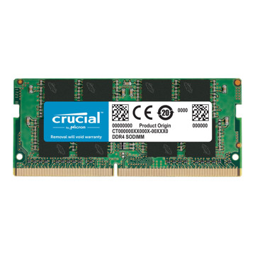 Crucial DDR4 2666MHz CL19 SINGLE Channel Laptop RAM - 8GB