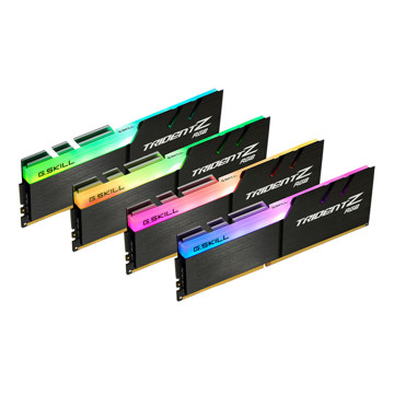 رم دسکتاپ جی اسکیل DDR4 چهار کاناله 3600 مگاهرتز CL16 سری TRIDENT Z RGB ظرفیت 64 گیگابایت