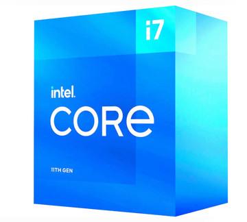 پردازنده مرکزی اینتل سری Rocket Lake مدل Core i7-11700 همراه با جعبه