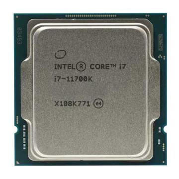 پردازنده مرکزی اینتل سری Rocket Lake مدل Core i7-11700k Tray بدون جعبه